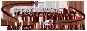 Sport bewegt.Sport verbindet Logo